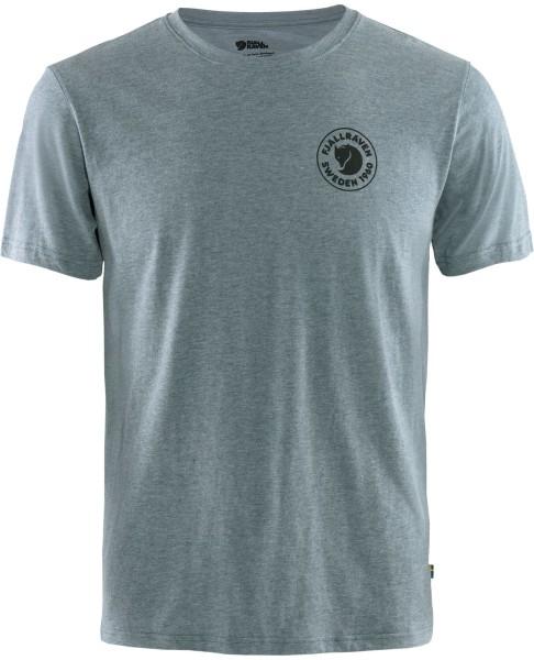 Fjällräven - 1960 Logo T-shirt M - Uncle Blue-Melange - Streetwear - Shirts & Tops - Shirts und Tops - T-Shirt