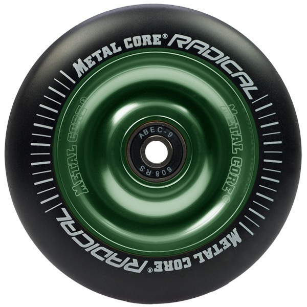Metal Core - Boards & Co - Scooter - Parts Scooter - Wheels Scooter - black/green