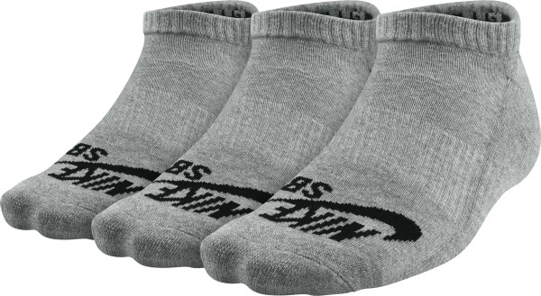 Nike - SB No Show - Accessories  -  Socken  -  Füßlinge - heather grey black