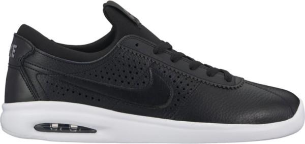 Nike SB - Air Max Bruin Vapor Leather - black black dark grey