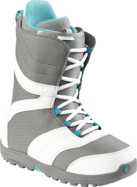 COCO - Boot - Burton - White-Grey-Teal