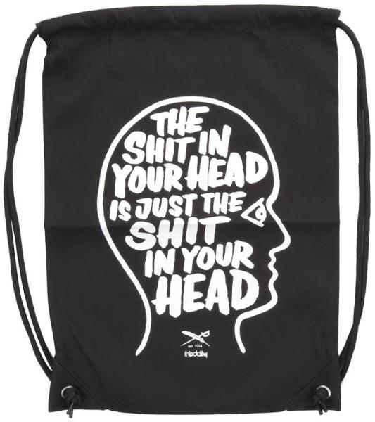Iriedaily - In your Head - Accessories - Rucksäcke & Taschen - Taschen - Beutel - black
