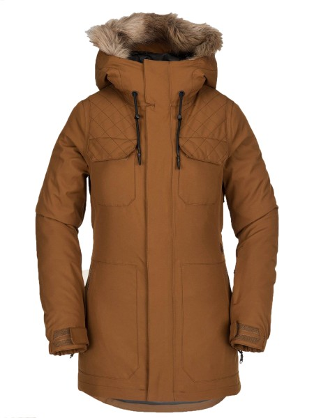 Shadow ins Jacket - Volcom - Damen - Copper - Snowwear - Funktionsjacken - Snowboardjacken