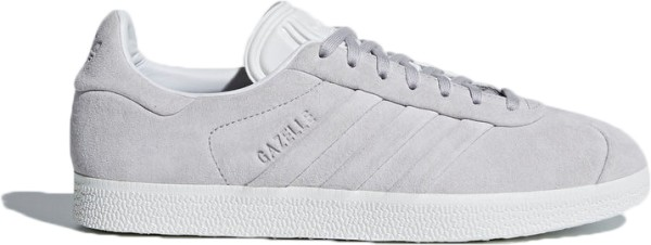 Adidas - Gazelle Stitch and Turn W - Schuhe - Sneakers - Grey Two/Grey Two/White