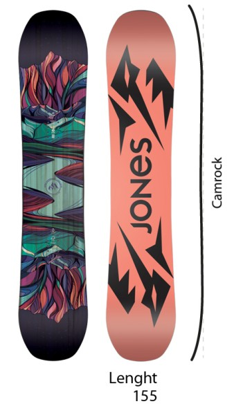 Twin Sister - Jones - nocolor - Snowboard
