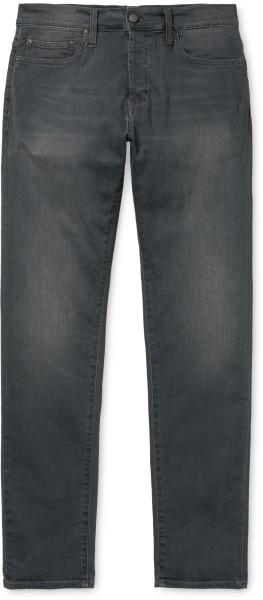 Carhartt - Klonike Pant II - grey - gravel washed - grau - Streetwear - Jeans - Regular Fit