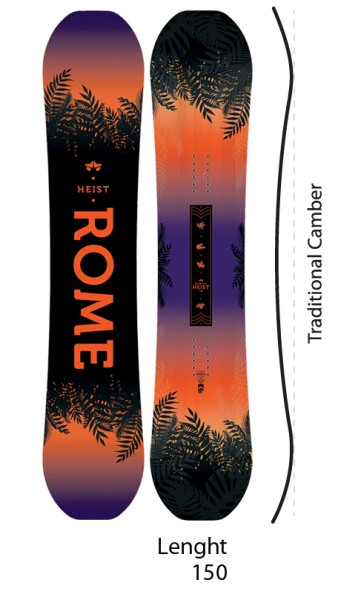 Heist - Rome SDS - nocolor - Snowboard