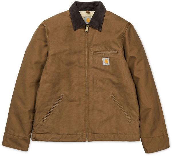 Carhartt - Detroit Jacket - hamilton brown - braun - carhartt jacke - detroit jacke - herren jacke carhartt