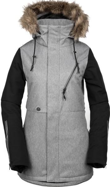 Volcom - Fawn Ins - Snowwear - Funktionsjacken - Snowboardjacken - heather grey