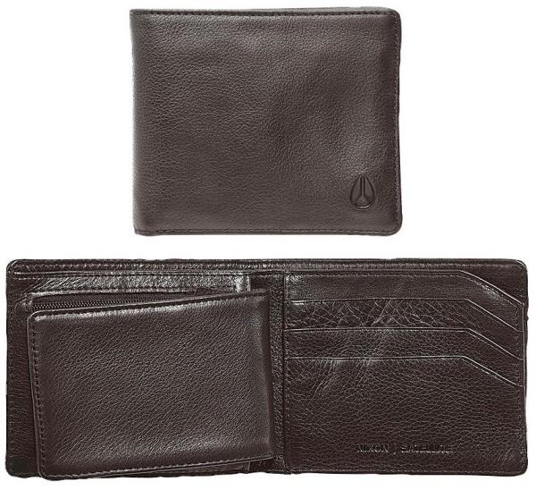 Nixon - Satellite Big Bill - Accessories - Geldtaschen - Ledergeldtaschen - brown