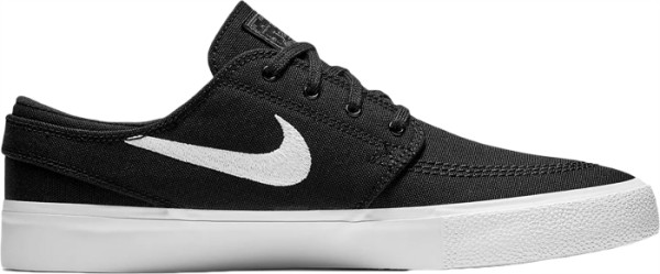 SB Zoom Stefan Janoski RM Canvas - Nike - black/thunder grey/gum light brown/white - Sneakers