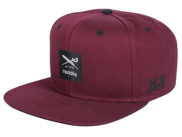 Daily Flag 2 Snapback - Herren - Iriedaily - Cap - Red wine