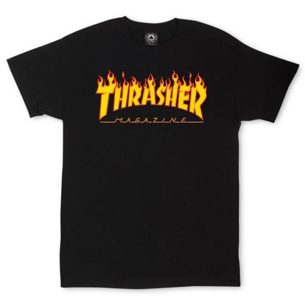 Trasher - Flame - Shirt - Herren