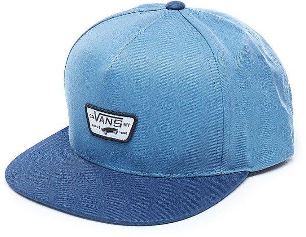 Vans - Mini Full Patch - Accessories  -  Caps  -  Snapback Caps - Copen Blue/Dress Blues