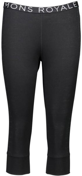 Mons Royal - Alagna - Streetwear - Unterwäsche - Lange Unterhosen - black/black birdseye