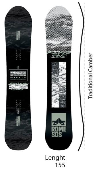 Warden - Rome SDS - nocolor - Snowboard