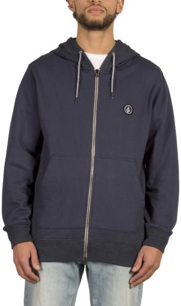 Volcom - Backronym - Streetwear - Sweaters - Zip Hoodies - navy