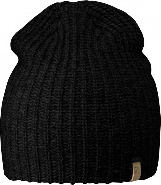 Fjällräven - Övik Melange - Accessories - Mützen - Beanies - black