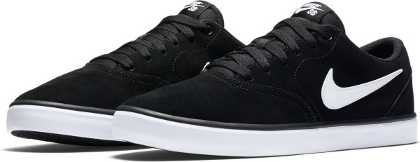 Nike - Check Solarsoft - Schuhe - Sneakers - black/white