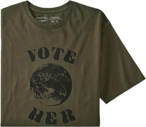 Ms Vote Her Organic T-Shirt