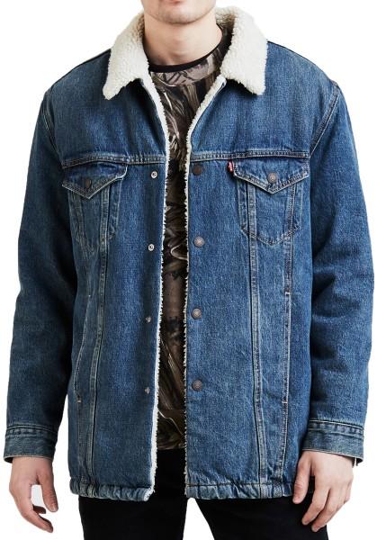 Levis - Long Sherpa Trucker - Clairmont - Streetwear - Jacken - Winterjacken