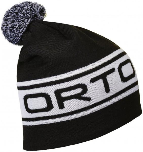 Ortovox - Logo Band - Accessories - Mützen - Bommelmützen - black raven
