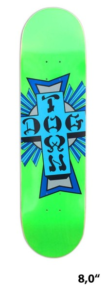 Powell- Cross Logo - Boards & Co - Skateboard - Skateboard Decks - Skatedecks - green