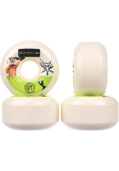Bones - Mc Clain Duck Hunt - Boards & Co - Skateboard - Skateboard Wheels - SB Rollen-Wheels - white