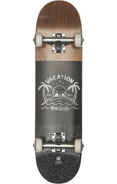 Globe - Por Vida Mid - Boards & Co - Skateboard - Skateboard Decks - Complete Skateboards - brown/black - Globe Por Vida Mid brown/black Complete Skateboards - Por Vida Mid brown/black Complete Skateboard von Globe