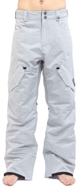 WLD - Scatman II - grey stripes - snowboardhose - funktionshose - graue snowpant