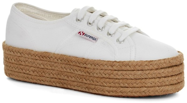 Superga - 2790-COTROPEW - Schuhe - Sneakers -White