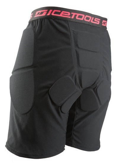 UNDERPANTS LADY 2016 - Protektorhose - Ice Tools Damen - Black-Coral