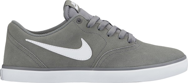 Nike SB - Check Solarsoft - Schuhe  -  Sneakers - cool grey/white