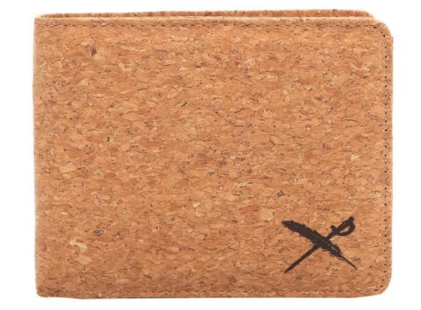 Iriedaily - Cork Flag - Accessories - Geldtaschen - Kunstledergeldtaschen - Light Brown