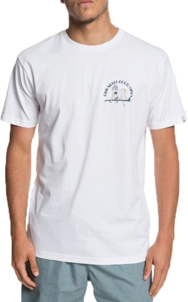 KIDATYPICALSS - Quiksilver - White - T-Shirt