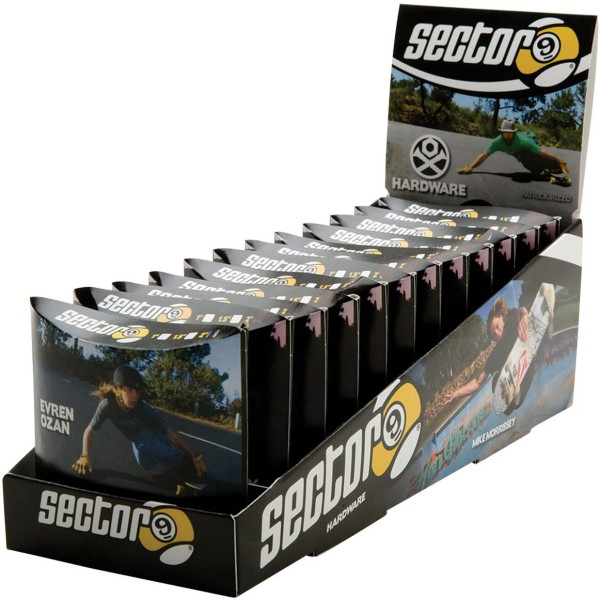 Sector 9 - Bolt Pack - Boards & Co - Longboard - Longboard Zubehör - LB Schrauben - black
