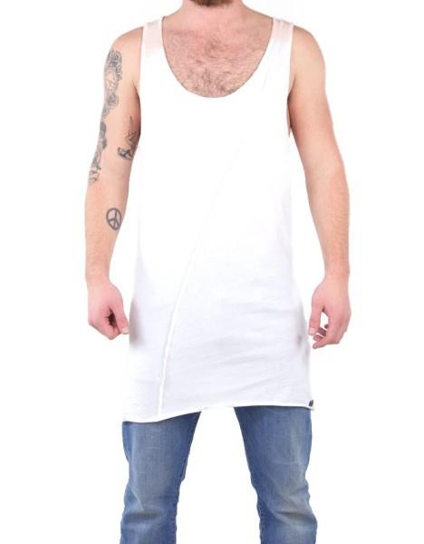 Boom Bap - Tank Long Cloud - Streetwear - Shirts & Tops - Tank Tops - white - Boom Bap Tank Long Cloud white Tank Top - Tank Long Cloud white Tank Top von Boom Bap