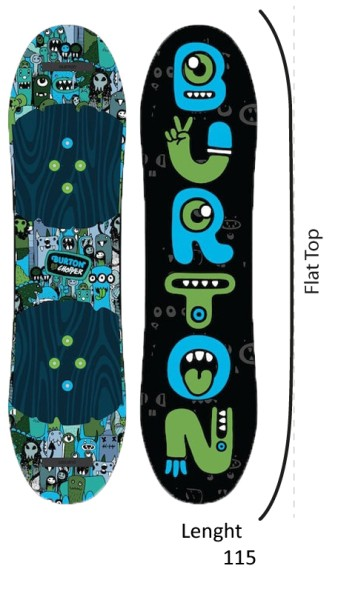 Burton - Chopper - Boards & Co - Snowboards - Snowboards - All Mountain Zero - no color