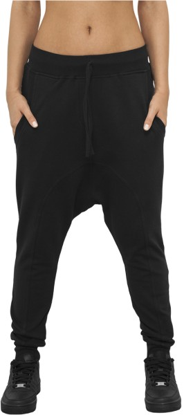 Urban Classics - Ladies Light Fleece - Streetwear - Hosen - Jogginghosen - black