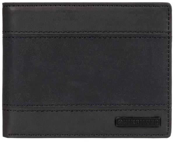 Quiksilver - Supp Slim - Accessories - Geldtaschen - PU-Geldtasche - black