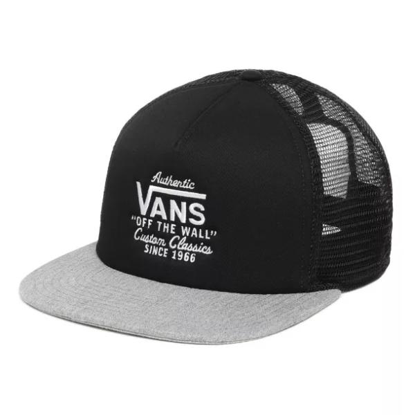 MN GALER TRUCKER - Vans - Black/Heather Grey - Snapback Cap