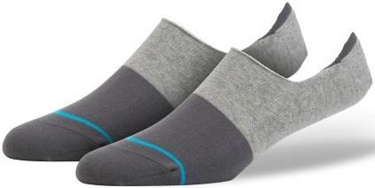 Stance - Spectrum Super - grey - Stance Füßlinge - Füßlinge von Stance - Stance Socken - kurze Socken Stance - short socks stance