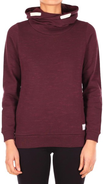 Iriedaily - Mixed Turtle - Streetwear - Sweaters - Kapuzenpullis - wine