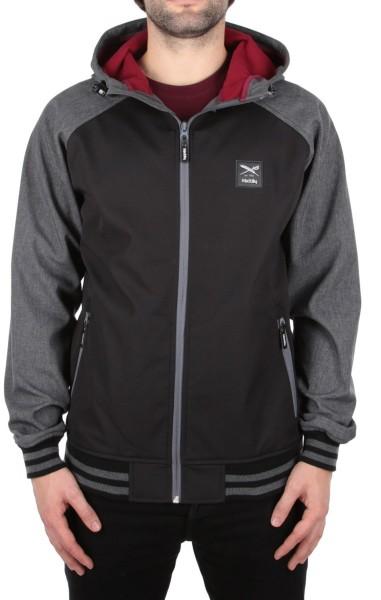 Iriedaily - Fusion College Jacket - Übergangsjacke - Black