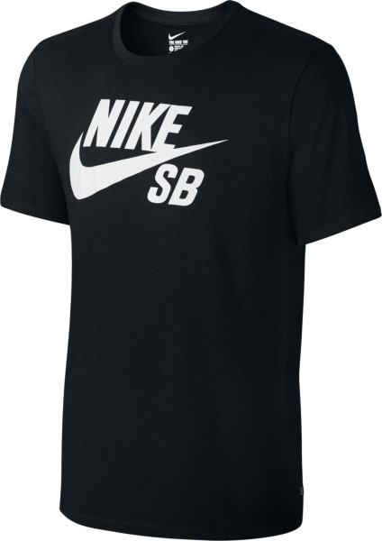 Nike SB - Logo Tee Shirt - black black - schwarz - nike tee shirt - logo shirt von nike - nike sb streetwear