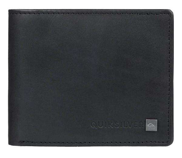 Curvecutter - Quiksilver - black - Ledergeldtaschen