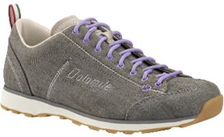 Dolomite - Cinquantaquattro Lh Canvas - grey/lil vic - Schuhe - Sportschuhe - Outdoorschuhe