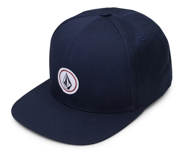 QUARTER SNAPBACK - Snapback Caps -  Kinder - Volcom - Smokey Blue