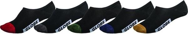 Globe - Dip Invisible Sock 5 Pack 17 - Accessories - Socken - Socken