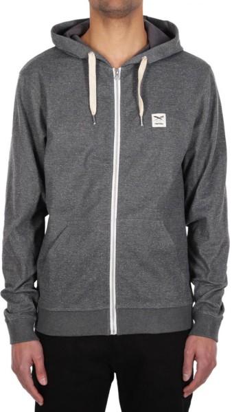 Iriedaily - On Point - Streetwear - Sweaters - Zip Hoodies - anthra mel.